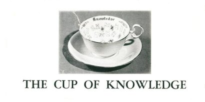 the cup of knowledge